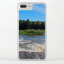 Two Days in the U-P Clear iPhone Case