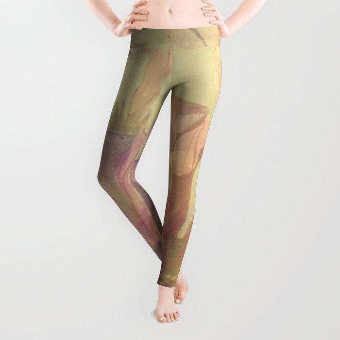 Wild Summer Flowers Leggings