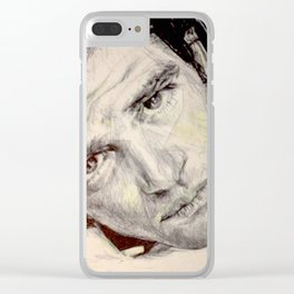 Antonio Banderas Clear iPhone Case