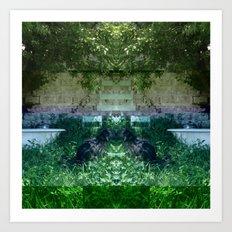 13-05-15 (NOLA Yard Glitch) Art Print