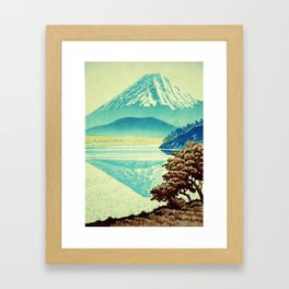The Hues beyond Janaha Framed Art Print