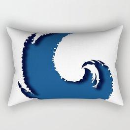 - the cut wave - Rectangular Pillow
