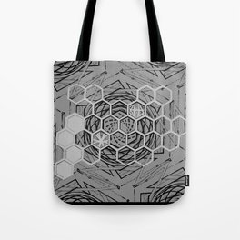 Honeycomb Portal Tote Bag