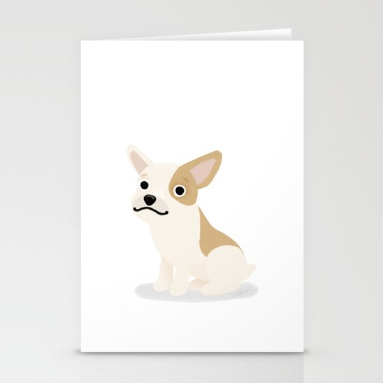 Frenchie - Cute Dog Series Stationery Cards