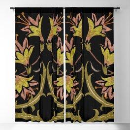 art nouveau Blackout Curtain
