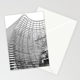 Abstract Architecture BW Stationery Cards