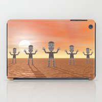 zombies iPad Cases featuring Zombies by Phil Perkins