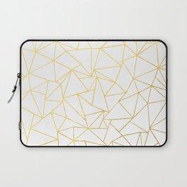 Ab Outline White Gold Laptop Sleeve