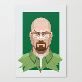 Breaking Bad - Walter White Beaten Up Canvas Print