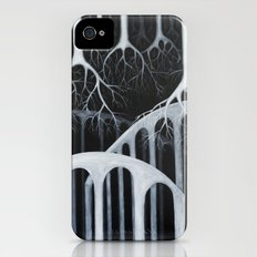 white forest Slim Case iPhone (4, 4s)