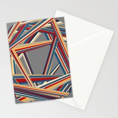 Bars and Stripes Stationery Cards