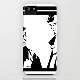 Simple Sherlock iPhone Case