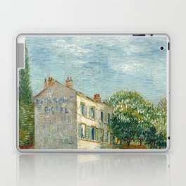 Restaurant Rispal at Asnieres by Vincent van Gogh Laptop & iPad Skin