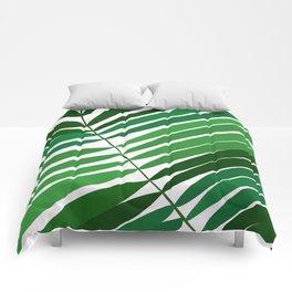 Tropical plant III Comforters