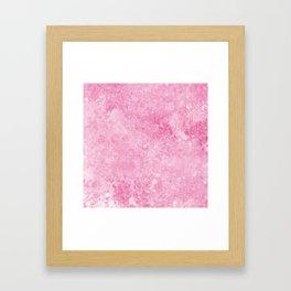 Pink Background Framed Art Print