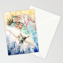 """The flying princess"" Stationery Cards"