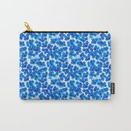 Forget-me-not Flowers White Background #decor #society6 #buyart Carry-All Pouch