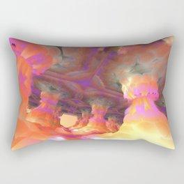 The Soft Colonnade (3D Fractal Digital Art) Rectangular Pillow