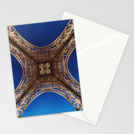 Eiffel Tower From Below Stationery Cards