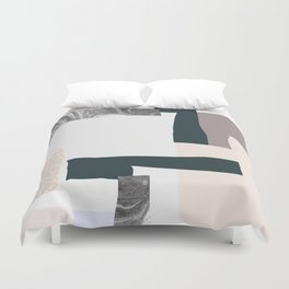 On the wall #2 Duvet Cover