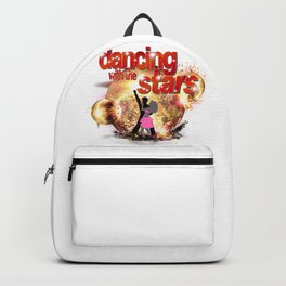 Dancing with the Stars Disco Balls Crashing 2 Resized Backpack