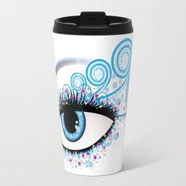 Winter eye Travel Mug