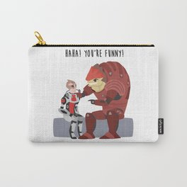 Mass Effect - Wrex and Mordin Carry-All Pouch