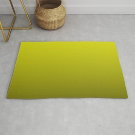 Cats Eye Yellow and Black Deadly Ombre Nightshade Rug