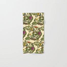 Botanical French Bulldog Hand & Bath Towel