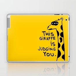 Judging Giraffe Laptop & iPad Skin