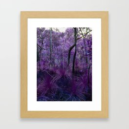 Conway National Park in Purple Framed Art Print