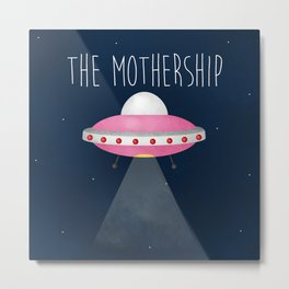 The Mothership Metal Print