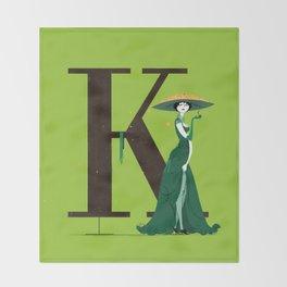 Klotilde & Walbaum Throw Blanket