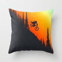 Fox Drop Throw Pillow