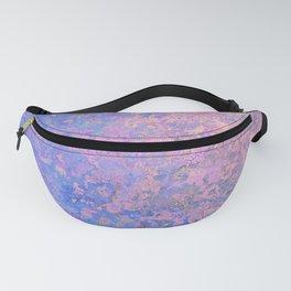 Texture Design Pattern (Pink, Purple, Blue) Fanny Pack