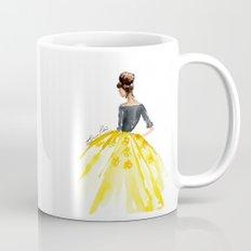 Sunny Spring Yellow Skirt Fashion Illustration Mug