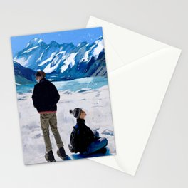 Yoonmin on Vacation Stationery Cards