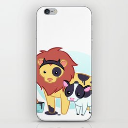 Lion Cow iPhone Skin