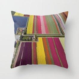 Louisa's Flower Farm Throw Pillow