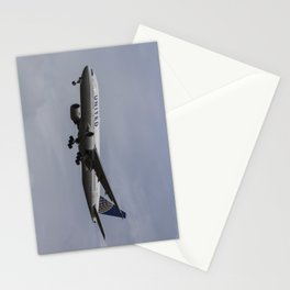 United airlines Boeing 777 Stationery Cards