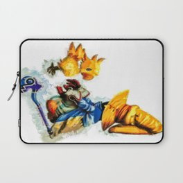 Vivi and the Chocobo Final Fantasy 9 Laptop Sleeve