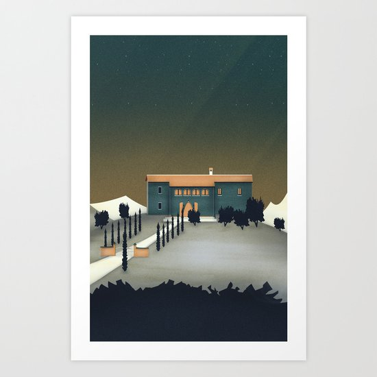 Secret Castle Art Print