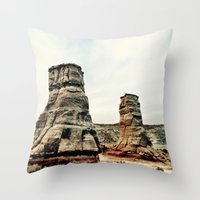 utah Throw Pillows featuring : utah :  by : heart on a sleeve photography :