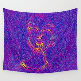Shout Wall Tapestry