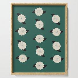 Botanic Wallpaper Serving Tray