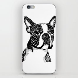 Boston Terrier iPhone Skin