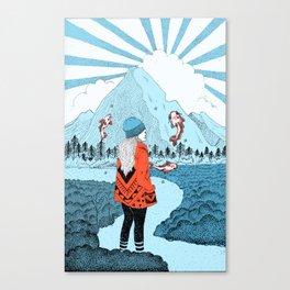 Wonderlanded Canvas Print