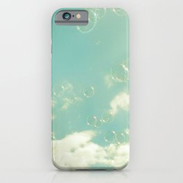there was a bright light iPhone Case