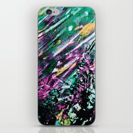 Galaxy Painting iPhone Skin