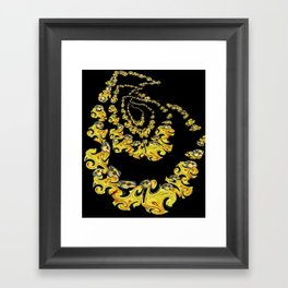 Charlie's wing and a pray Framed Art Print